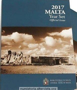 Malta, serie divisionale FDC 2017