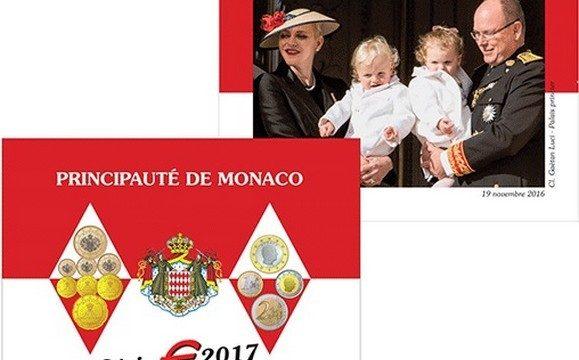 Monaco, serie divisionale FDC 2017