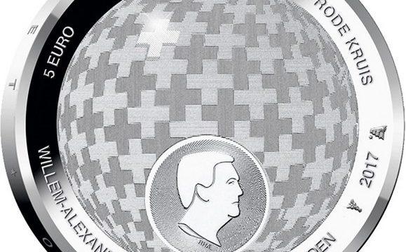Paesi Bassi, una moneta per la Croce Rossa