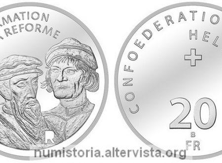 Svizzera, 20 franchi 2017 per la Riforma