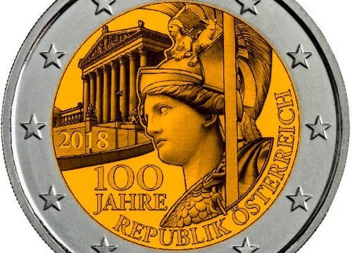 Austria, 2 euro commemorativo 2018