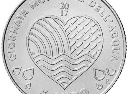 San Marino, 5 euro 2017 per la giornata dell'acqua