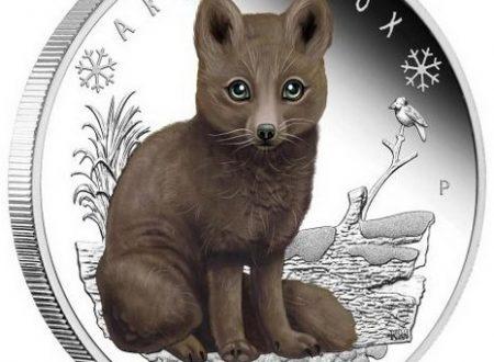 Tuvalu, una moneta per la volpe artica