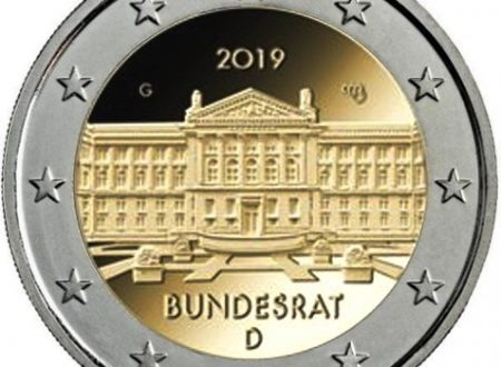 Germania, 2 euro commemorativo 2019 per il Bundesrat