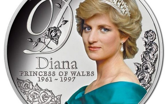 Tokelau, 1 dollaro 2017 per lady Diana