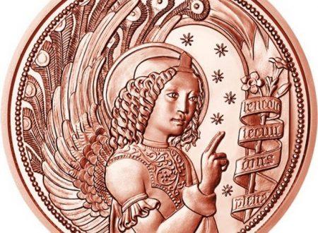 Austria, 10 euro 2017 per l'arcangelo Gabriele
