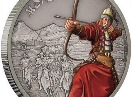 Niue, una moneta per l'esercito mongolo