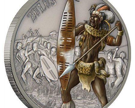 Niue, una moneta per i guerrieri Zulu