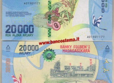 Il Madagascar emette quattro nuove banconote