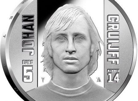 Paesi Bassi, tre monete per Johan Cruijff