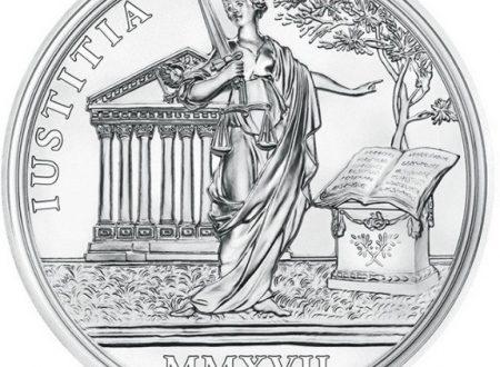 Austria, 20 euro 2017 per Maria Teresa (la giustizia)