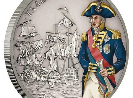 Niue, una moneta per la battaglia di Trafalgar