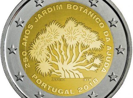 Portogallo, ecco i due 2 euro commemorativi 2018