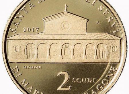 San Marino, 2 scudi 2017 per la chiesa di Valdragone