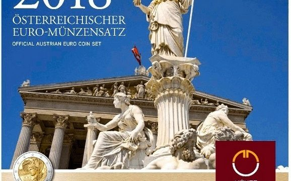 Austria, serie divisionale FDC 2018