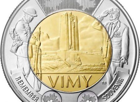 Canada, 2 dollari 2017 per la battaglia di Vimy