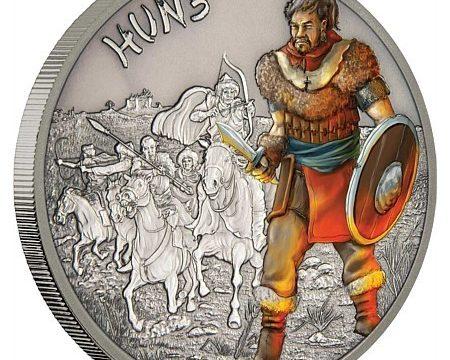 Niue, un'oncia d'argento per gli unni