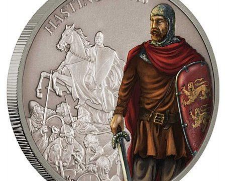 Niue, una moneta per la battaglia di Hastings