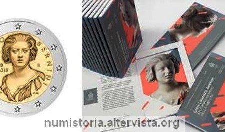 San Marino, 2 euro commemorativo 2018 per il Bernini