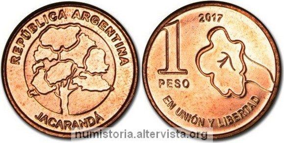 Argentina, nuove monete da 1 e 5 pesos
