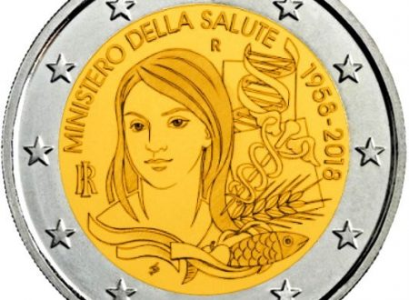 Italia, 2 euro commemorativo 2018 per il Ministero della Salute