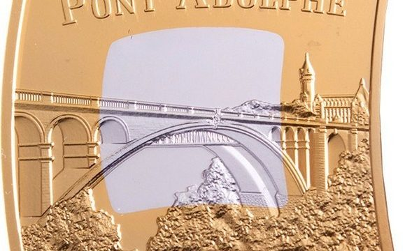 Lussemburgo, una moneta per il ponte Adolfo