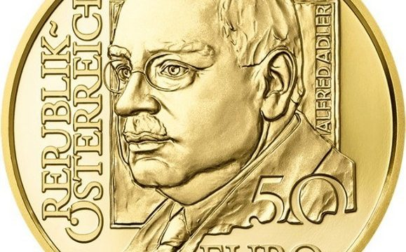 Austria, 50 euro 2018 per Alfred Adler