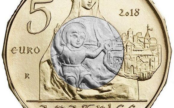 Italia, 5 euro 2018 per Amatrice