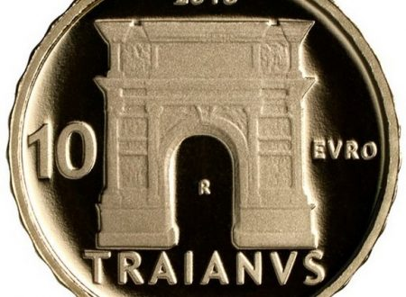 Italia, 10 euro 2018 per l'imperatore Traiano