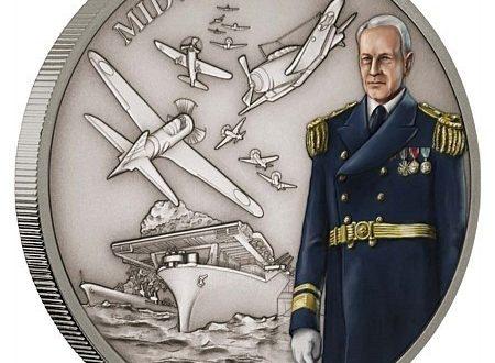 Niue, una moneta per la battaglia delle Midway