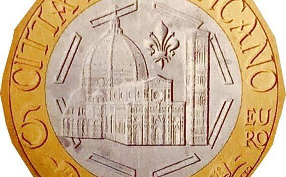 Vaticano, 5 euro 2018 per Santa Maria del Fiore