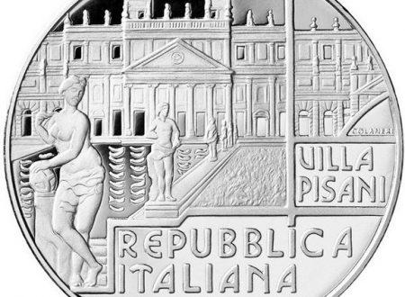 Italia, 5 euro 2018 per Villa Pisani