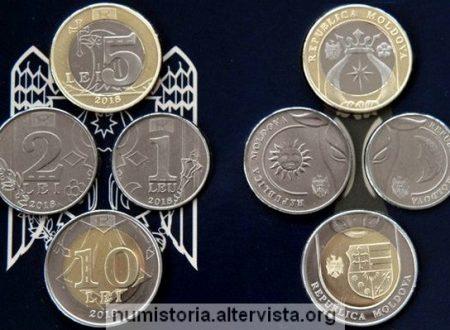 La Moldavia rinnova le monete ordinarie
