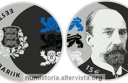 Estonia, 15 euro 2018 per Jaan Tonisson