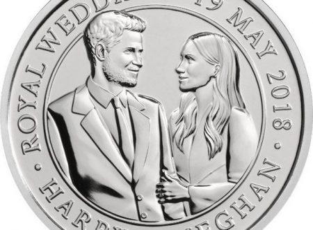 Una moneta per il matrimonio di Henry e Meghan