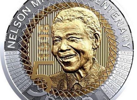 Sudafrica, 5 rand 2018 per Nelson Mandela