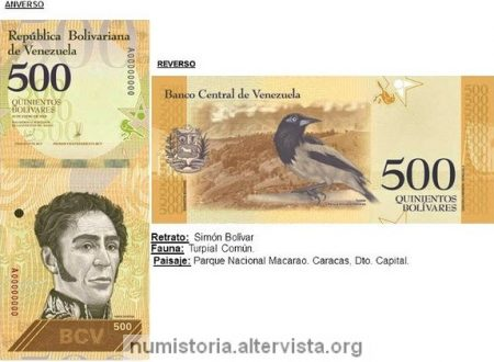 Venezuela, arriva il bolivar sovrano