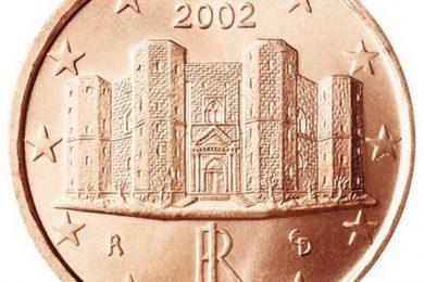 La moneta italiana da 1 centesimo