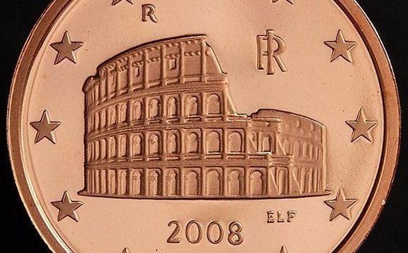 La moneta italiana da 5 centesimi