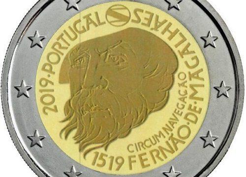 Portogallo, ecco i due 2 euro commemorativi 2019
