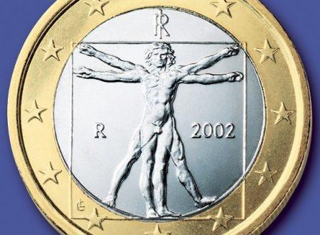 La moneta italiana da 1 euro