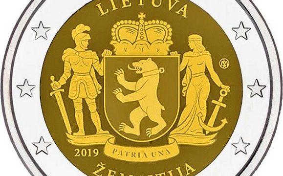 Lituania, 2 euro commemorativo 2019 Samogizia