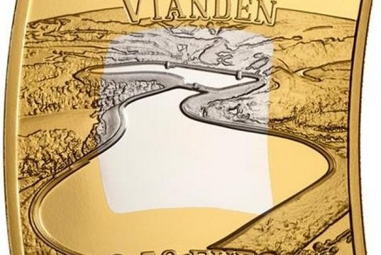 Lussemburgo, moneta per la centrale elettrica di Vianden