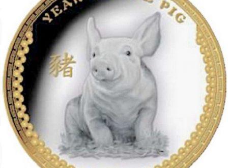 Palau, moneta per l'anno del Maiale