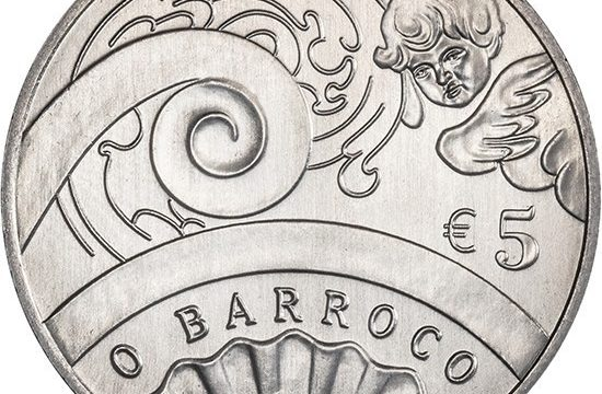 Portogallo, 5 euro 2018 per il Barocco