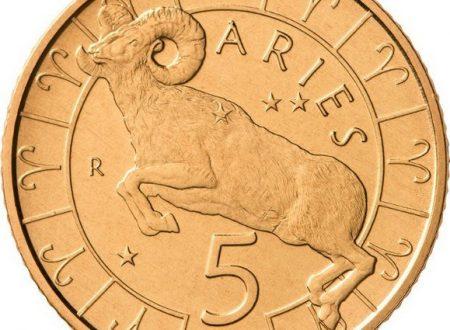 San Marino, monete da 5 euro per l'Ariete e il Toro