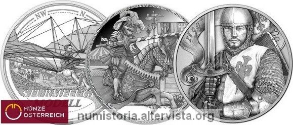 Austria, programma numismatico 2019