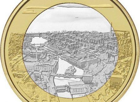 Finlandia, 5 euro 2018 per le rapide di Tammerkoski