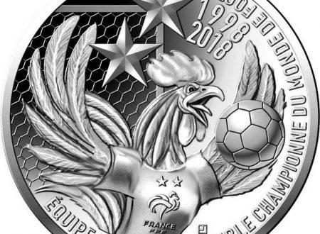 Una moneta per la Francia campione del mondo