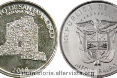 Panama, moneta per il convento di San Francesco